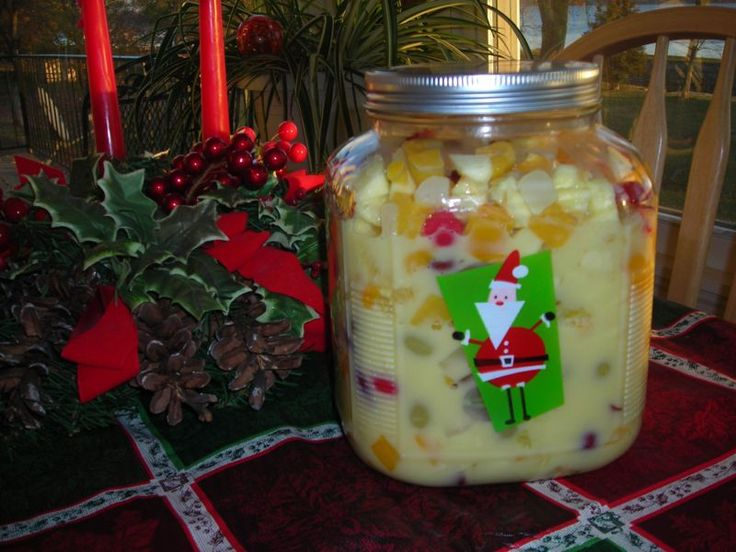 Holiday Fruit Salad (My favorite thing in the world to eat!!) ~ http://www.southernplate.com