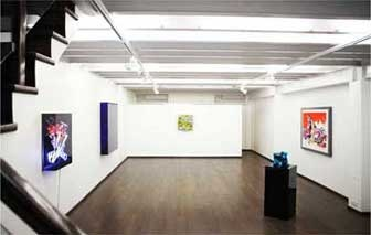 Anselm Reyle Exhibition at Galerie Isa, Mumbai - 17th Dec 2011 to 3rd March 2012