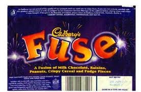 Fuse bars - basically everything you can think of that might be in a chocolate bar, at the same time.