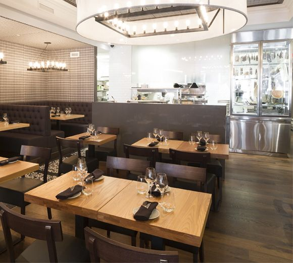 LEMAYMICHAUD | CHEZ BOULAY | Québec | Architecture | Design | Restaurant | Eatery | Hospitality | Lighting | Stainless | Seating
