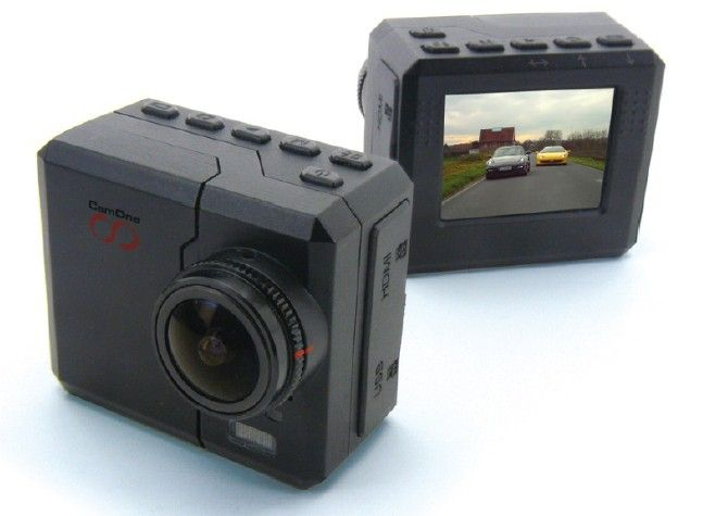CamOne Infinity: mini POV camera with interchangeable lens, DiveBox, optional  WiFi, 5.8GHz video transmission set and V-Eyes FPV googles