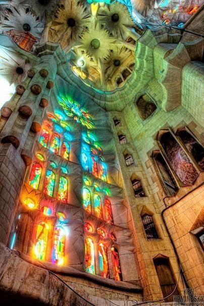 Barcelona, Spain - Sagrada Familia - places I've been :)