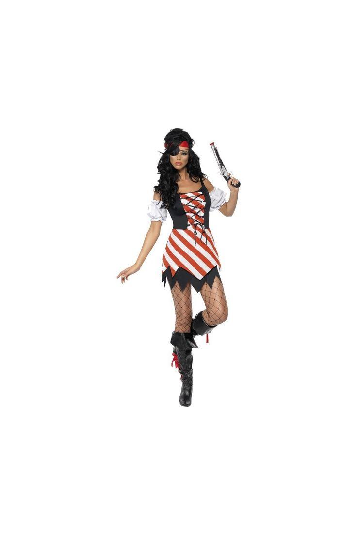 Disfraz Sexy de pirata corsaria Fever para mujer