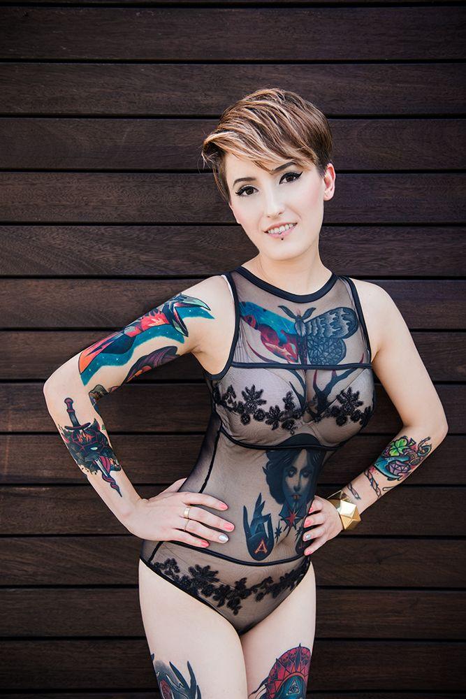 Agata Kacperczyk for www.tattoofest.pl