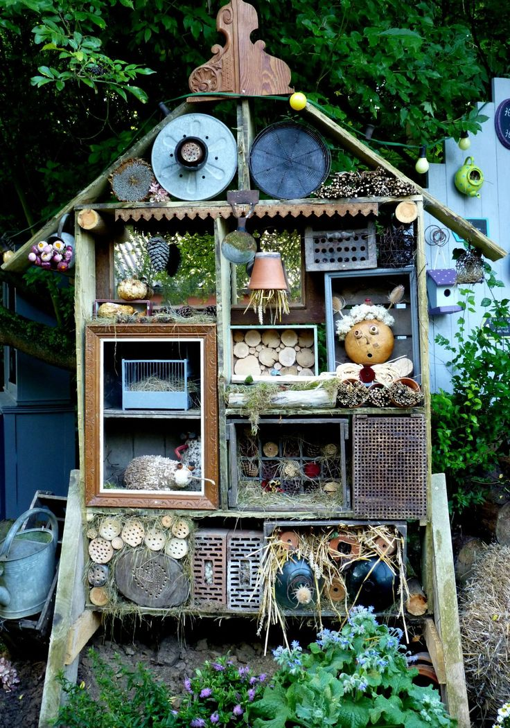 Insect hotel!