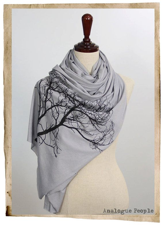 Cashmere Silk Scarf - Vintage Dogwood by VIDA VIDA OSH74