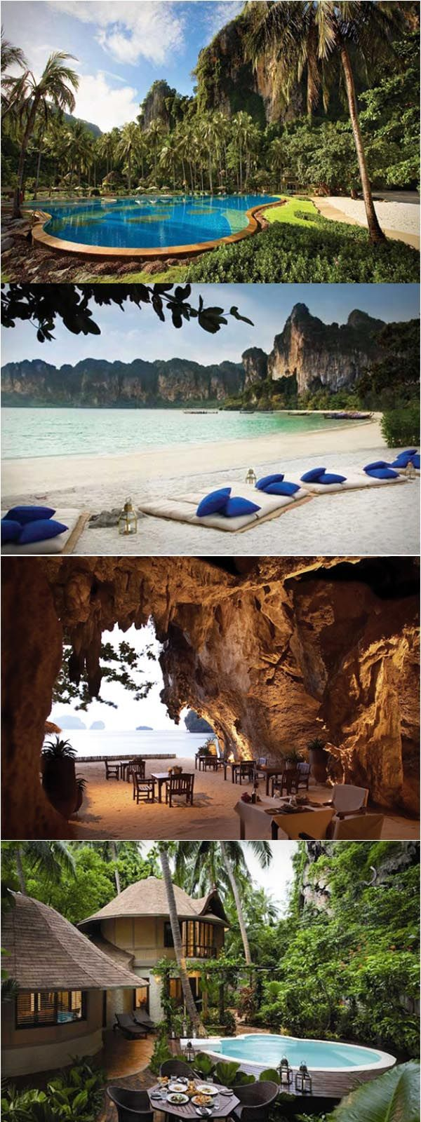 Rayavadee Resort, Krabi, Thailand - Explore the World with Travel Nerd Nici, one Country at a Time. http://TravelNerdNici.com