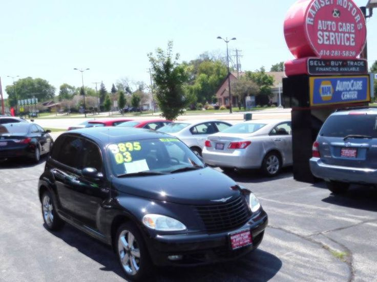 This 2003 Chrysler PT Cruiser GT is listed on Carsforsale.com for $3,895 in Milwaukee, WI. This vehicle includes Abs - 4-Wheel, Anti-Theft System - Alarm, Center Console, Clock, Cruise Control, Exterior Entry Lights, Front Air Conditioning, Front Airbags - Dual, Front Fog Lights, Front Seat Type - Bucket, Front Wipers - Intermittent, Gauge - Tachometer, In-Dash Cd - Single Disc, Multi-Function Remote - Keyless Entry, Power Brakes, Power Door Locks, Power Steering, Power Windows, Radio…