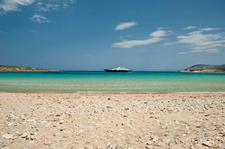 Pori beach in Koufonisi island, Greece