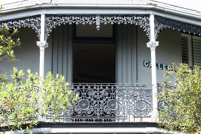 Sydney Eye: Wrought iron lace work