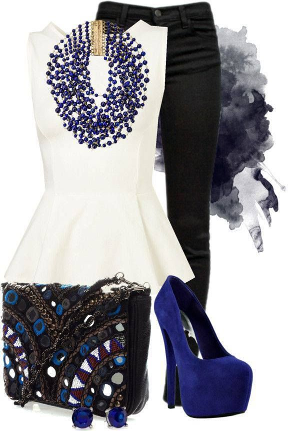 Peplum outfit.. Want something like this..