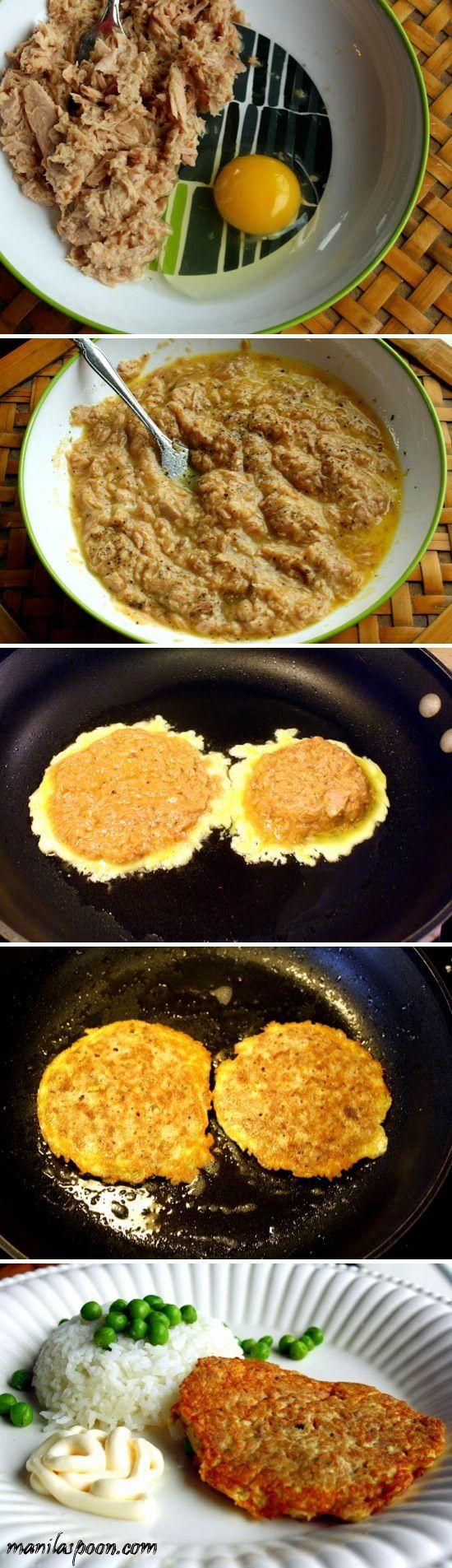 Tonijn omelet