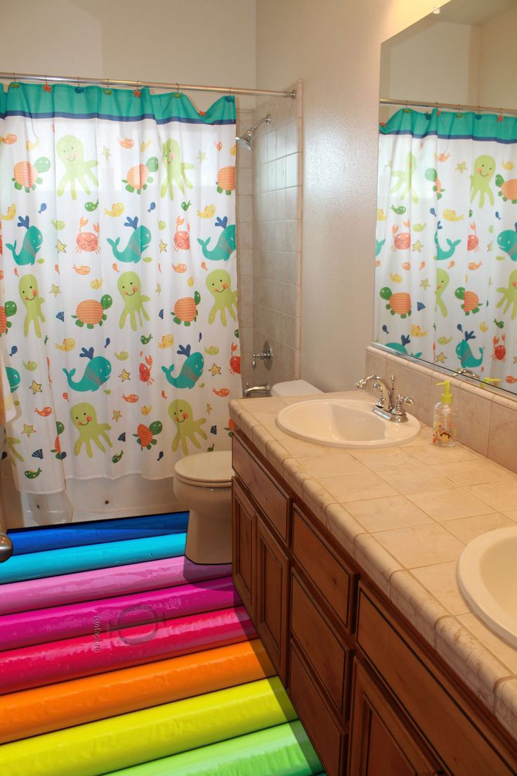 Kids bathroom   epoxy floor. 17 Best images about Bathrooms on Pinterest   Starfish  Bathrooms