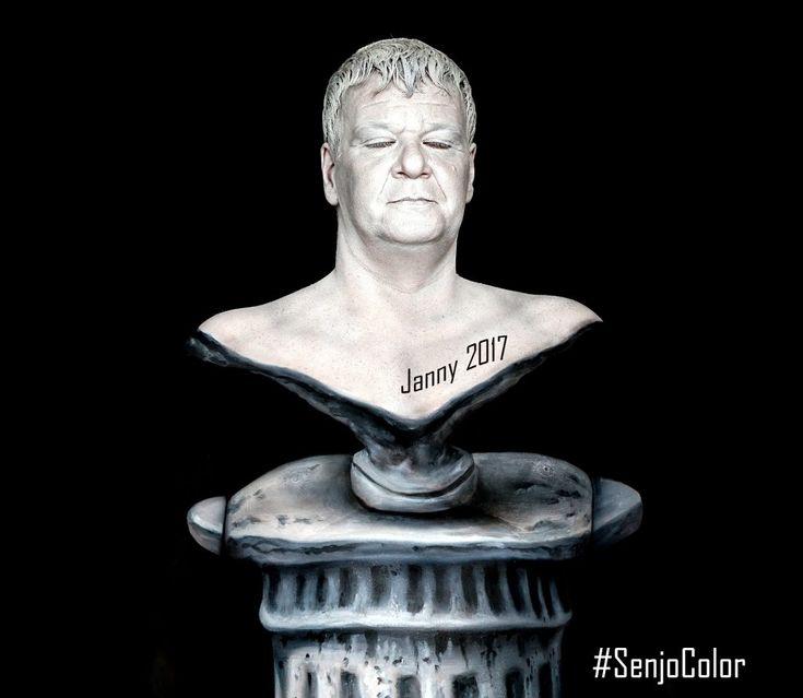 #bodypainting von #jannysart im #senjoloft bei #senjocolor