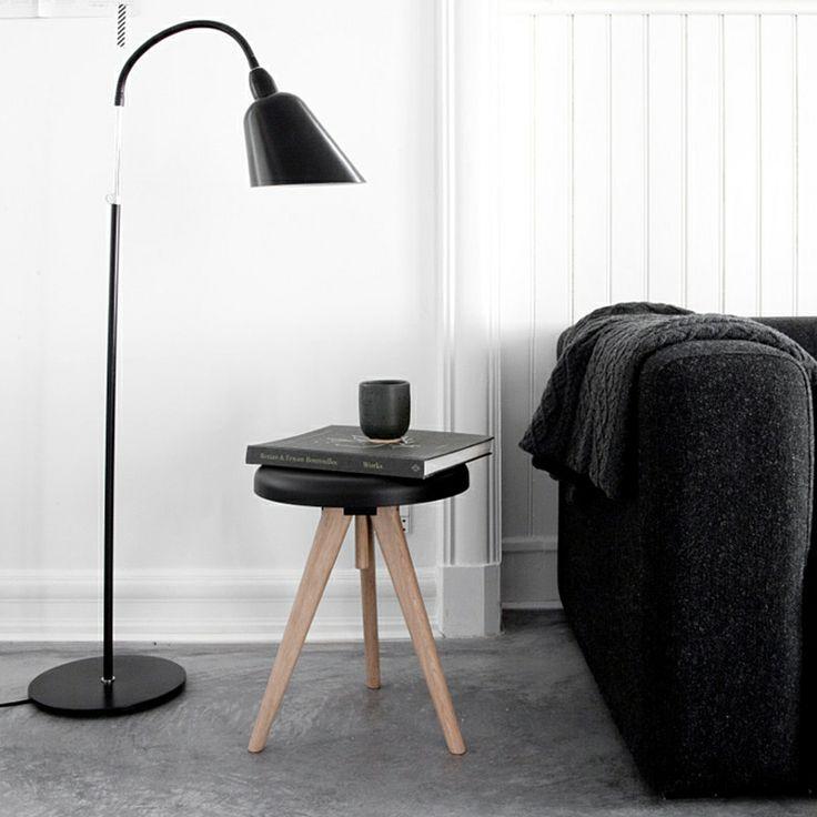 top3 by design - Menu - Norm Architect DK - menu flip around table, Light Ash + Black.
