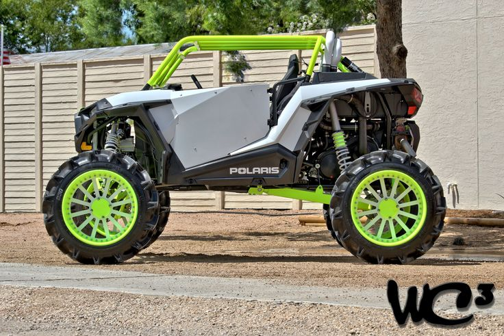 Toxic A Custom Polaris Rzr Xp 1000 By The Crew Over At