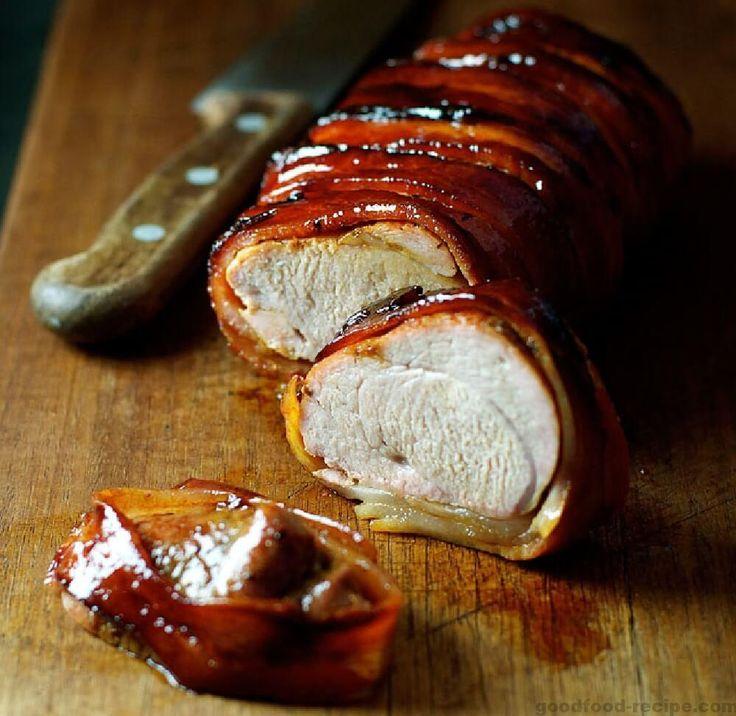 Muschi de porc imbracat in bacon