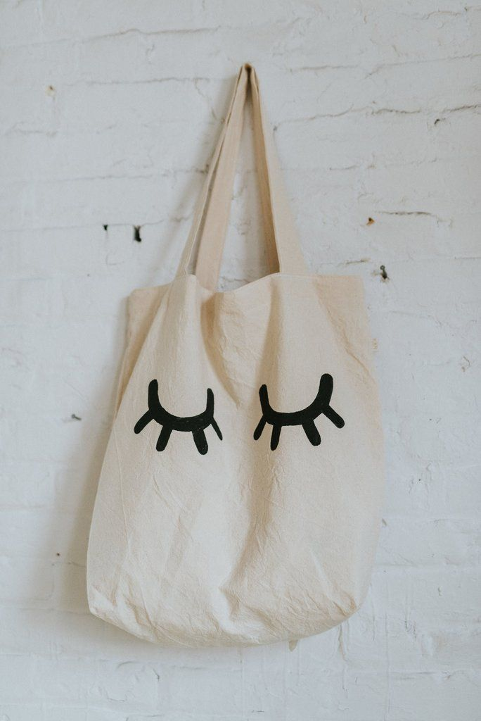 SLEEPY EYES Tote Bag