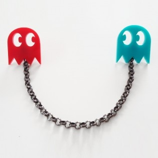 Pacman Broş by Lucky Beads