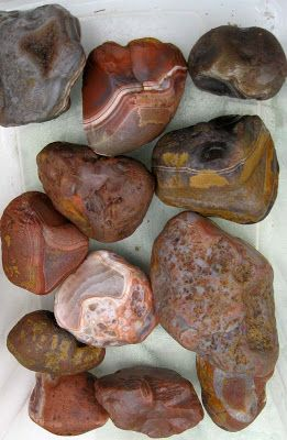 Growing up, I remember going to the shore and looking for these and sea glass. (Lake Superior)