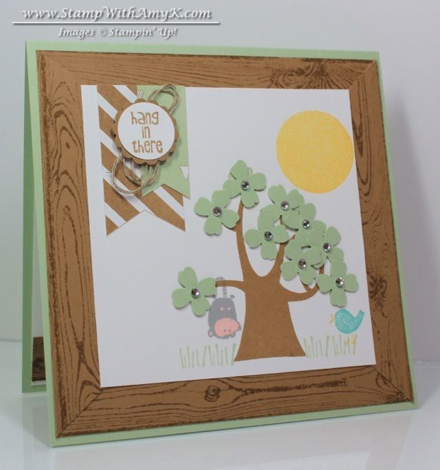 Nuts About You - Stampin' Up! - Stamp With Amy K