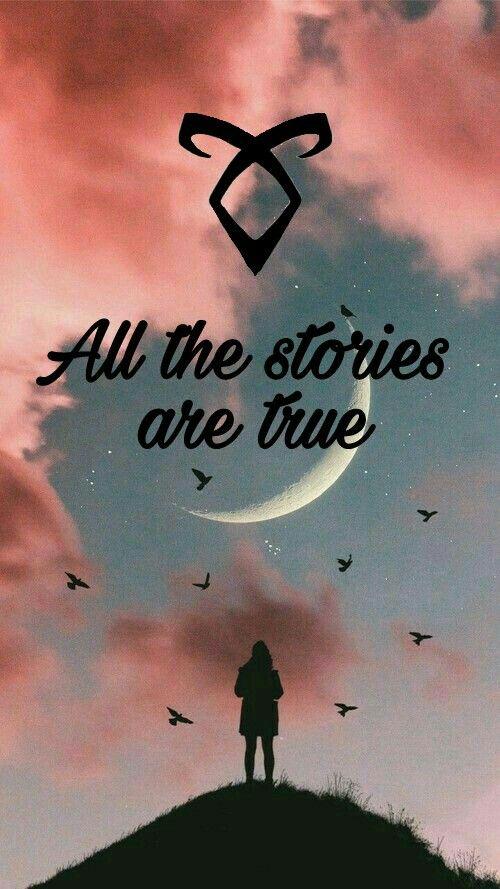 Todas las historias son cietas#cazadores de sombras