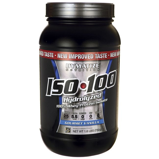 ISO 100 Hydrolyzed Whey Protein Isolate  Gourmet Vanilla, 1.6 lbs Pwdr AED387.00