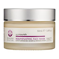 Manuka Doctor - Apinourish Rejuvenating Face Mask PLEASE NOTE: THESE PRODUCTS ALL HAVE BEE VENOM IN. DO NOT USE IF YOU'RE ALLERGIC.