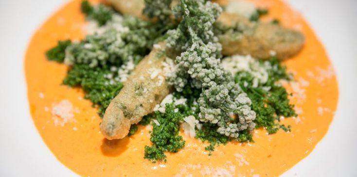 Huazontle Salad