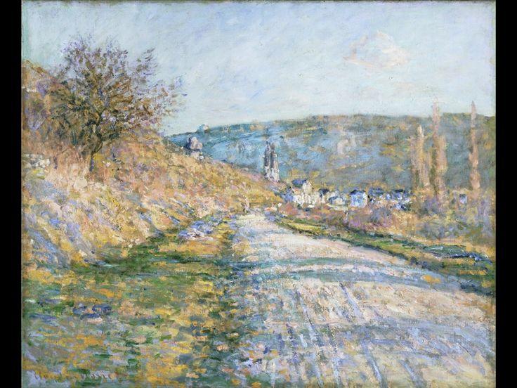 Claude Monet, La strada per Vétheuil, 1879