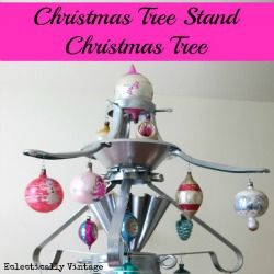 ChristmasTreeStandTreeb by Unskinny Boppy  http://eclecticallyvintage.com/2012/12/christmas-tree-stand-christmas-tree/?utm_source=feedburner_medium=email_campaign=Feed%3A+http%2Fwwweclecticallyvintagecom%2Fbloghtml+%28Eclectically+Vintage%29#