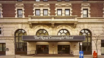 The Royal Connaught Hotel is a 13-storey building in downtown Hamilton Ontario