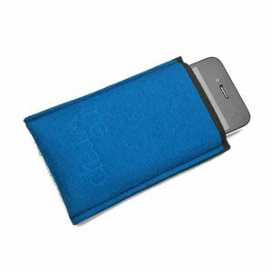 Custodia iPhone blue by Re Wrap