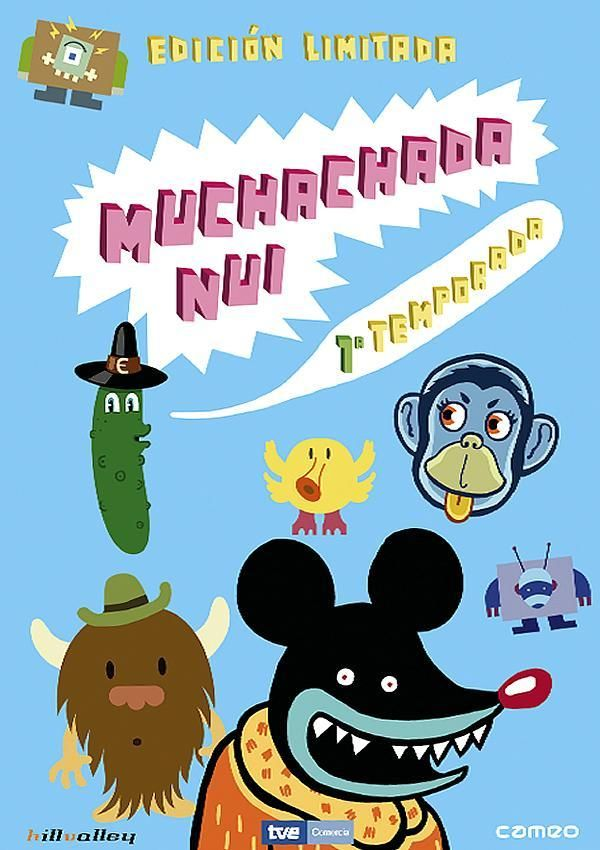 Muchachada Nui (2007-2010) España - DVD SERIES 187