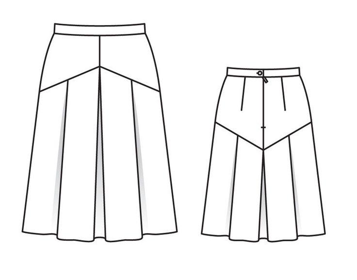 модные юбки и выкройки в картинках мацулевич, где располагается