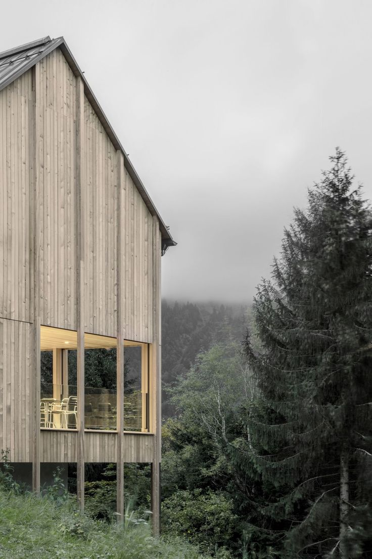 Stürcher Forest House / Bernardo Bader Architect
