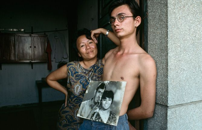 how were the lives of vietnamese and amerasian children affected by the vietnam war Escape from saigon: how a vietnam war orphan became an american boy by  which affected many lives  amerasian children, and statistics of the war.