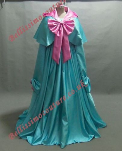 Disney-Godmother-Costume-adult-SIZE-6-8-10-12-14-16-Fairy-Godmother-dress