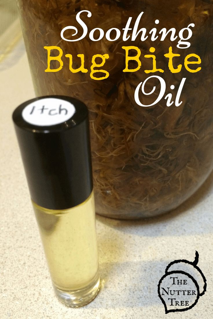 """Homemade soothing bug bite anti-itch oil. The kids came in with itchy red spots, instead of just using some lavender EO, I decided we needed to make """"itch"""" in a roller bottle to have on hand!"""