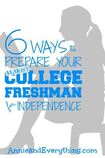 Is your child going to be a freshman this fall? Preparing for college means getting ready for a new level of independence; here's how parents can help.