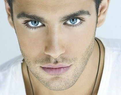 Hmmmm Hmmmm, love those eyes! Kostas Martakis
