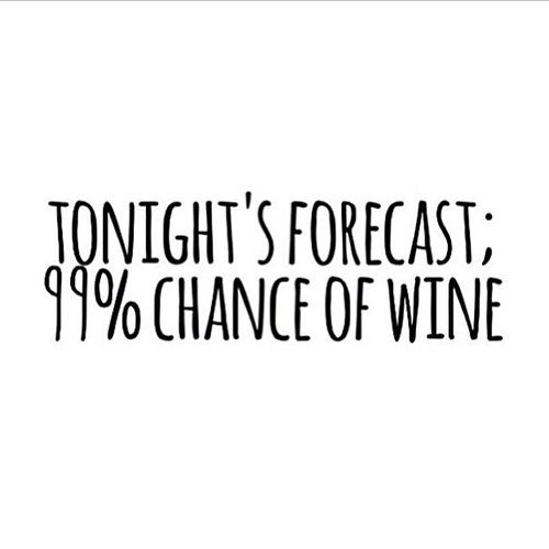 ... and the forecast is always the same.
