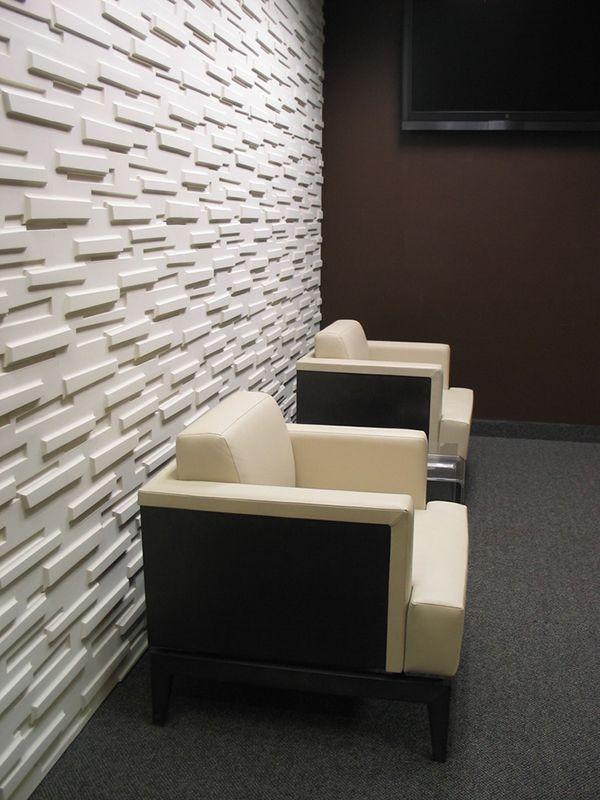 Tendencias: paredes texturadas con relieve - Ebom | Ebom