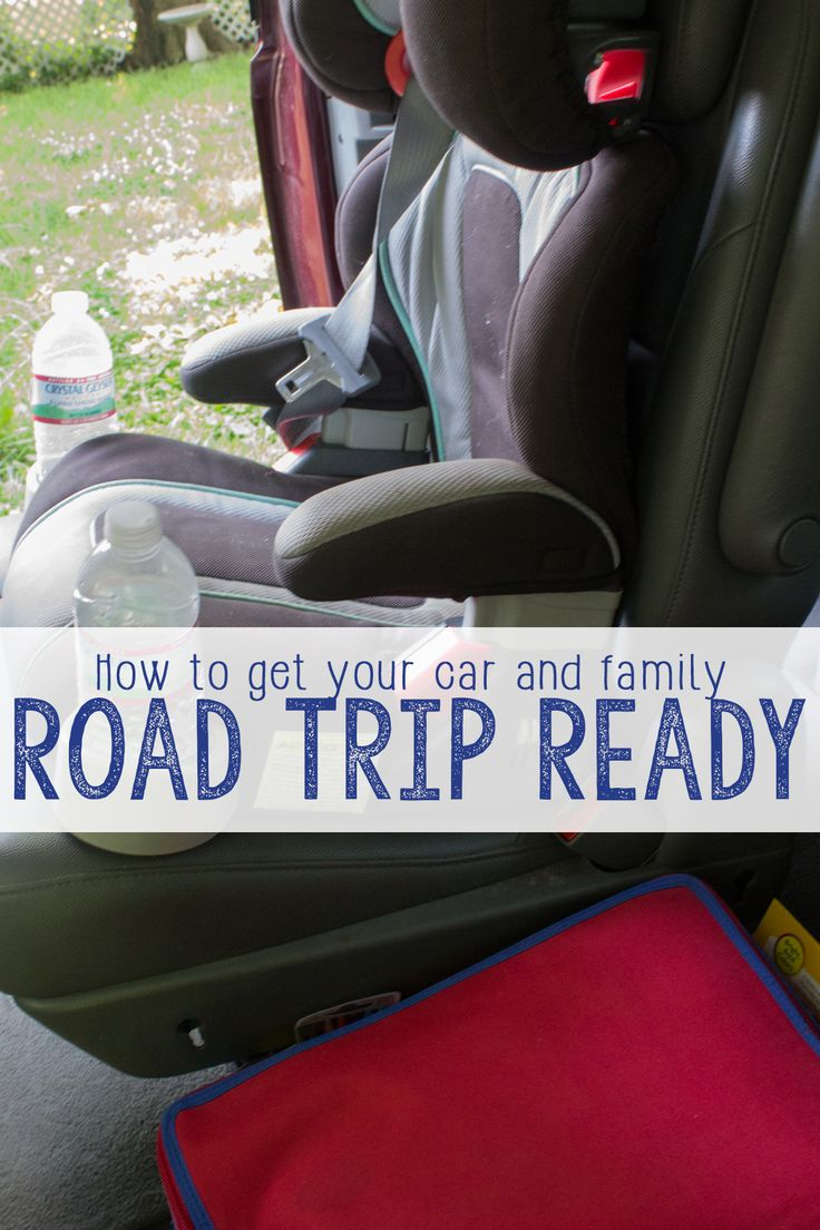 How to Get Your Car (And Family!) Road Trip Ready!
