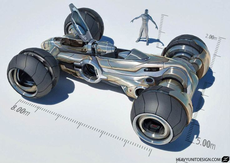 Concept Car development by MikeHill