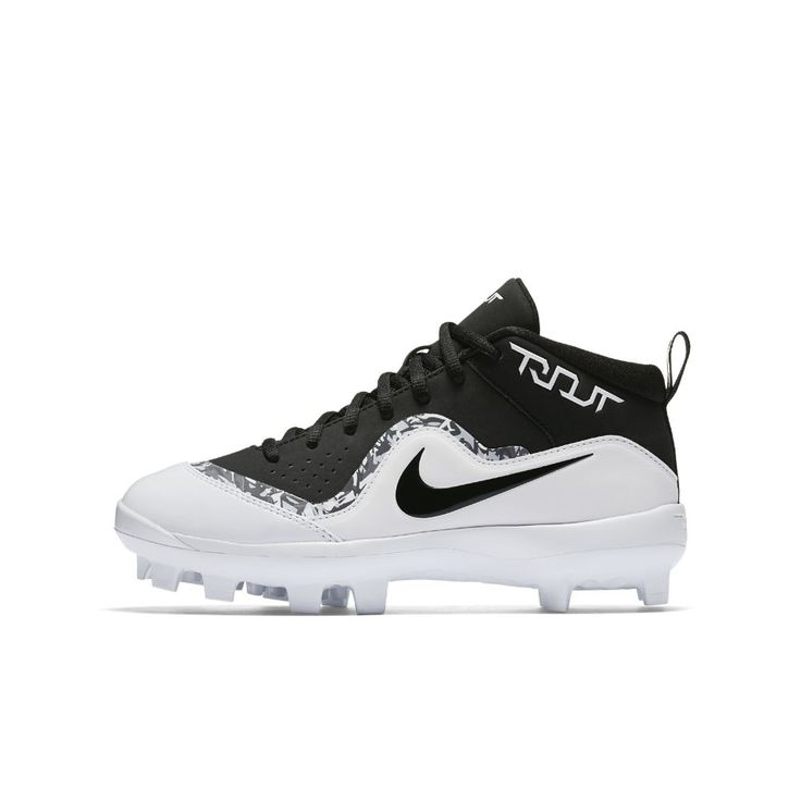 Nike Force Air Trout 4 Pro MCS Big Kids' Baseball Cleats Size 1.5Y (