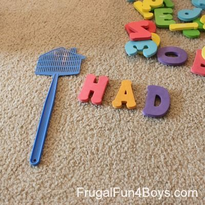 Letter Sound Slap: A Phonics Game for Beginning Readers - Frugal Fun For Boys