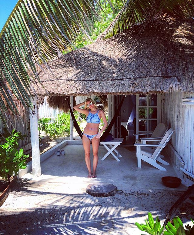 #traveller #cabana #bikini #travel #mexico #tulum #tulummexico @mytulum @tulummexico @cocotulum #cocotulum #cabana #reiseblogg #privatecabin #jungle #beach #beachfront