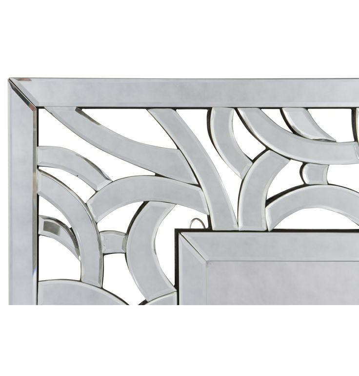 Luna Wall Mirror - Matt Blatt