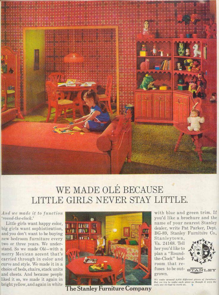 Ole By Stanley Furniture Retro Vintage Little Girls